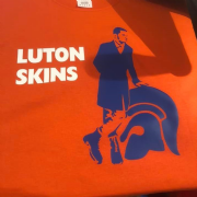 LUTON SKINS T-SHIRT (Orange)